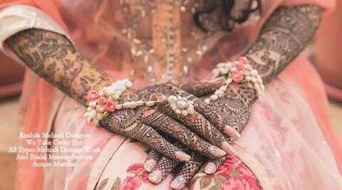 Mehndi Artist : Rushda mehndi designer near me